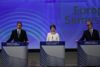 Press conference by Valdis Dombrovskis, Vice-President of the EC, Marianne Thyssen and Pierre Moscovici, Members of the EC, on the European Semester Spring Package 2017