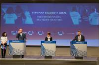 Press conference by Günther Oettinger, Marianne Thyssen and Tibor Navracsics, Members of the EC