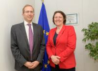 Visit of Henri Poupart-Lafarge, Chairman and CEO of Alstom, to the EC