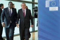 Visite de Macky Sall, président du Sénégal, à la CE