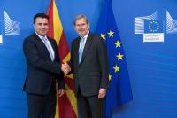 Visit of Zoran Zaev, Prime Minister of the former Yugoslav Republic of Macedonia, to the EC