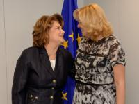Visit of Rovana Plumb, Romanian Minister Delegate for European Funds, to the EC
