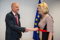 Visite de Roland Strauss, co-fondateur et directeur général de Knowledge4Innovation (K4I), à la CE