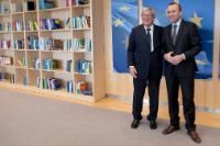 Visit of Manfred Weber, President of the European People's Party (EPP) Group in the EP, to the EC