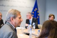 Visit of observers from the International Monitoring Operation to Albania, to the EC