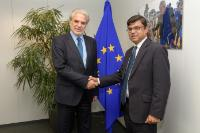 Visit of Mohammed Shahdat Hossain, Head of the Mission of Bangladesh to the EU, to the EC.