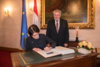 Visite de Marianne Thyssen, membre de la CE, au Luxembourg