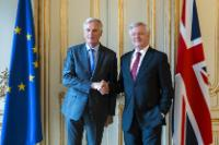 Meeting of Michel Barnier, Chief Negotiator in charge of the Preparation and Conduct of the Negotiations with the United Kingdom, and David Davis, British Secretary of State for Exiting the European Union