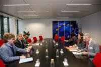 Visit of Véronique Willems, Secretary General of the European Association of Craft, Small and Medium-sized Enterprises (UEAPME), to the EC