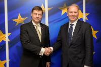 Visit of Christian Thimann, Chair of the High-Level Expert Group on sustainable finance, to the EC