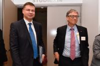Visit of Valdis Dombrovskis, Vice-President of the EC to France