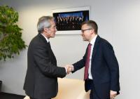 Visit of Frédéric Saint-Geours, Chairman of SNCF's Supervisory Board, to the EC