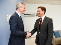 Visit of Bruno Le Maire, French Minister for Economy and Finance, to the EC