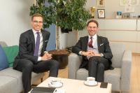 Visite d'Alexander Stubb, vice-président de la Banque européenne d'investissement (BEI), à la CE