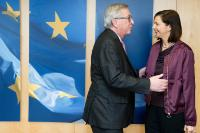 Visit of Katrin Göring-Eckardt, Co-Chair of the Green Parliamentary Group in the German Bundestag, to the EC