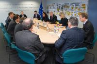 Visit of representatives of the World Bank to the EC
