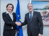 Visit of Laura Thompson, Deputy Director General of the International Organization for Migration (IOM), to the EC