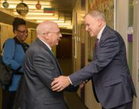 Visite de Stephen Ostroff, Deputy Commissioner for Foods and Veterinary Medicine at the US Food and Drug Administration (FDA), à la CE