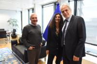 Visit of representatives of the  Sophia Foundation for Children, to the EC