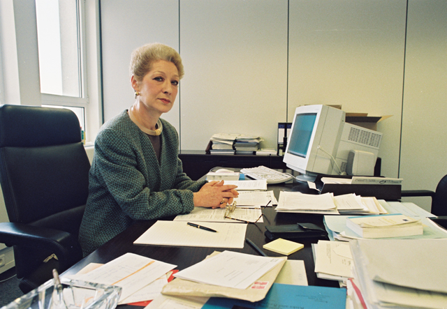 Françoise Gaudenzi, Director at the EC