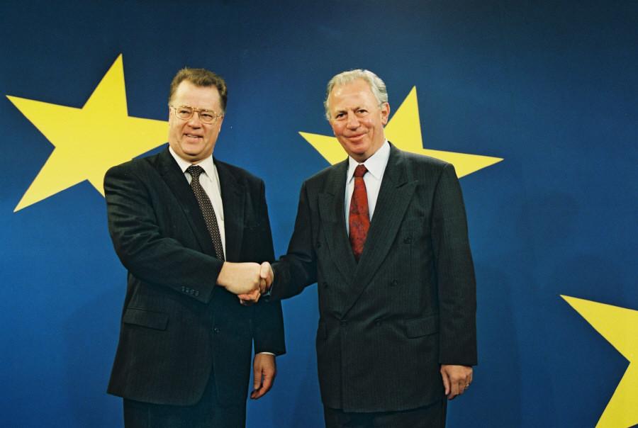 Visit of Guntis Ulmanis, President of Latvia, to the EC