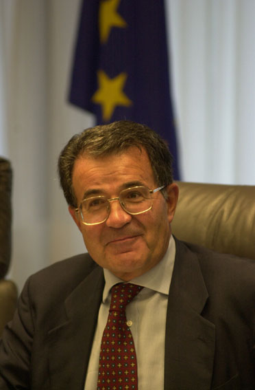 Weekly meeting of the Prodi Commission