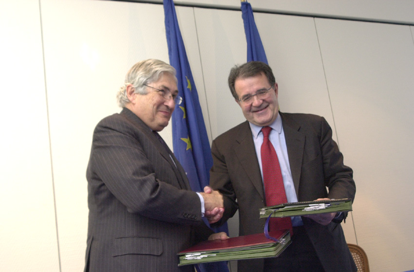 Visit of James Wolfensohn, President of the World Bank, to the EC