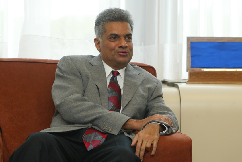 Visit of Ranil Wickremesinghe, Prime Minister of Sri Lanka, to the EC
