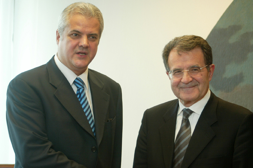 Visit of Adrian Nastase, Romanian Prime Minister, to the EC
