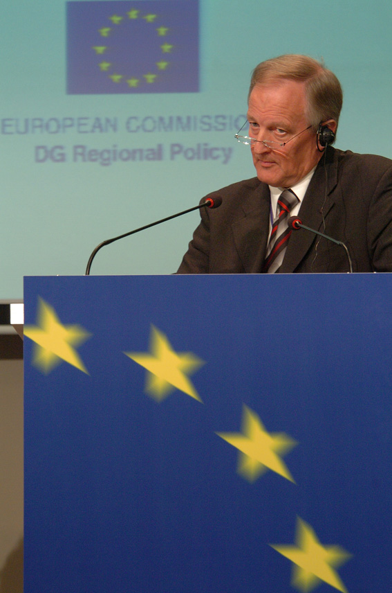 Visit of Peter Straub, President of the Committee of the Regions, to the EC
