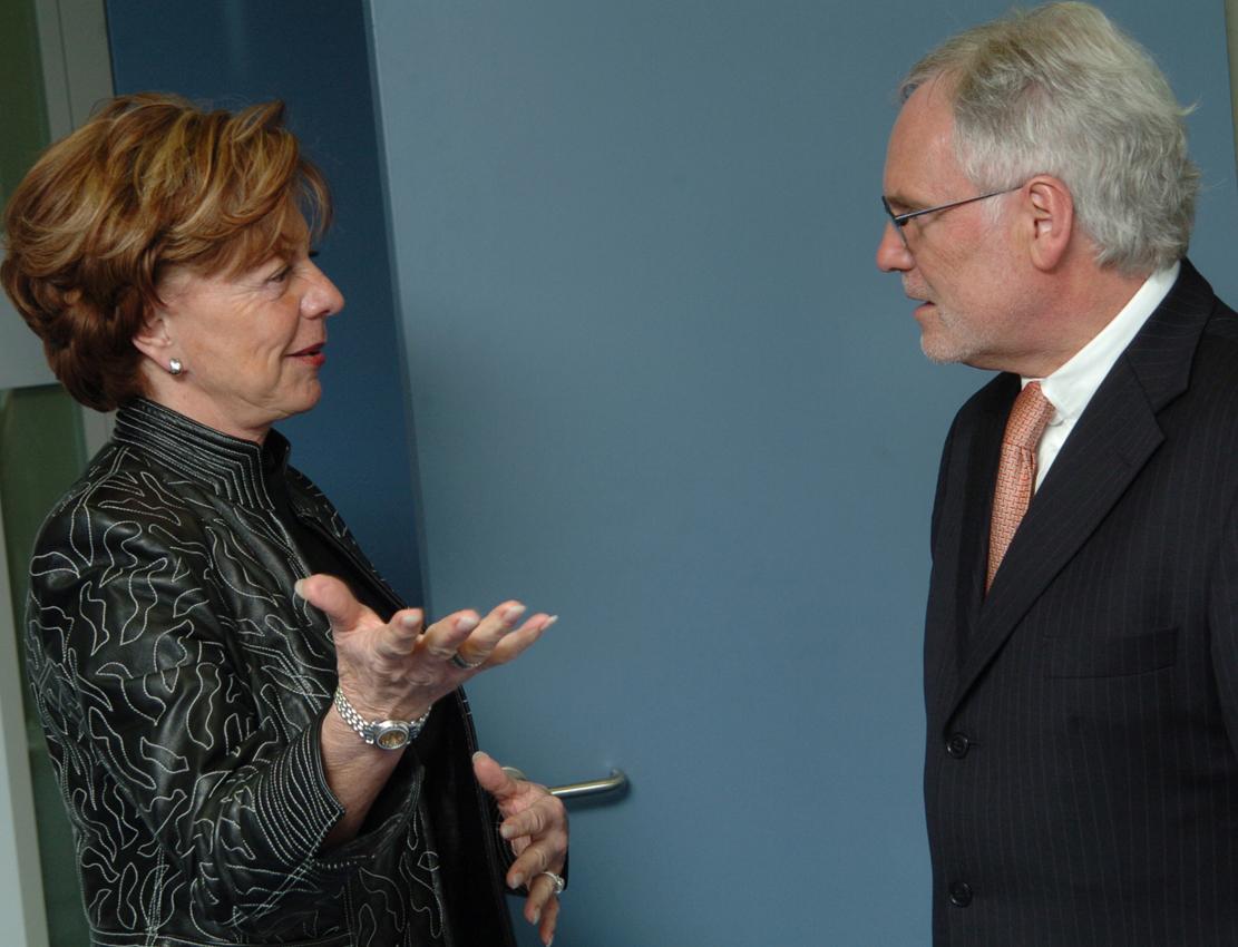 Visit of Markus Schächter, Director-General of ZDF, to the EC