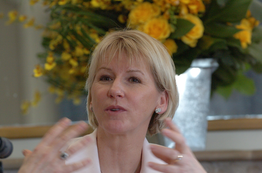 Participation of Margot Wallström, Vice-President of the EC, to the Spring Day in Europe