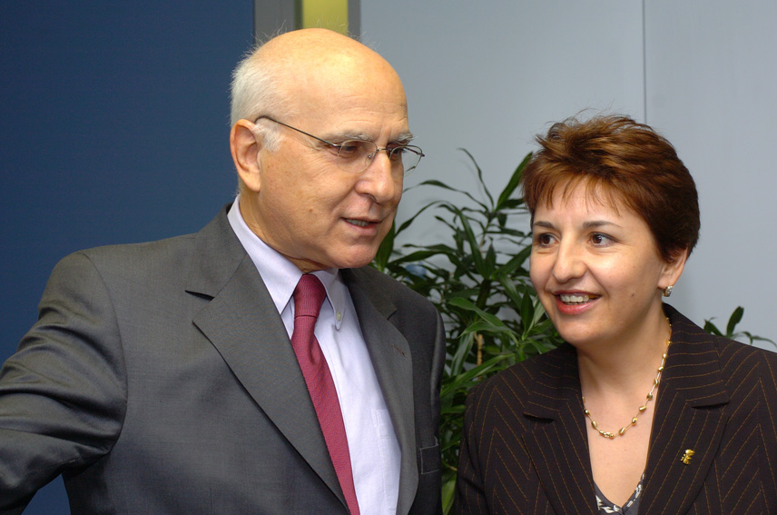 Visit of Sulfina Barbu, Romanian Minister of Environment and Waters Management, to the EC