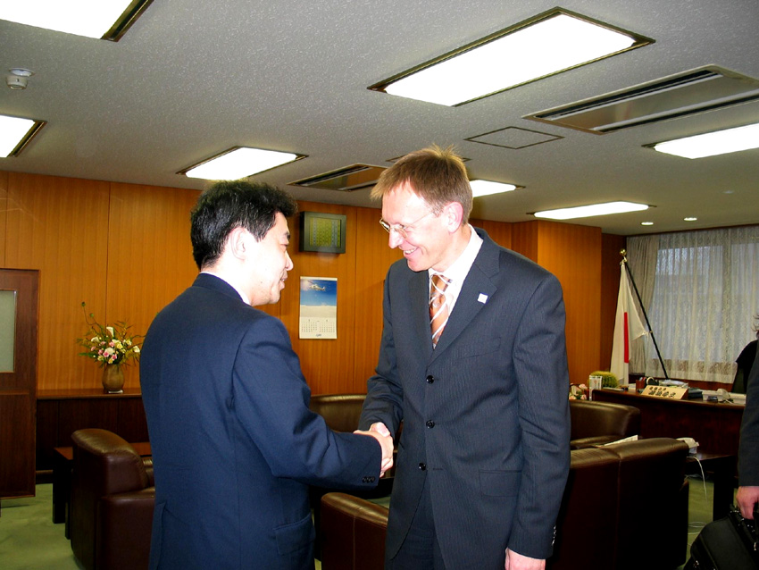 Visit of Janez Potocnik, Member of the EC, to Japan