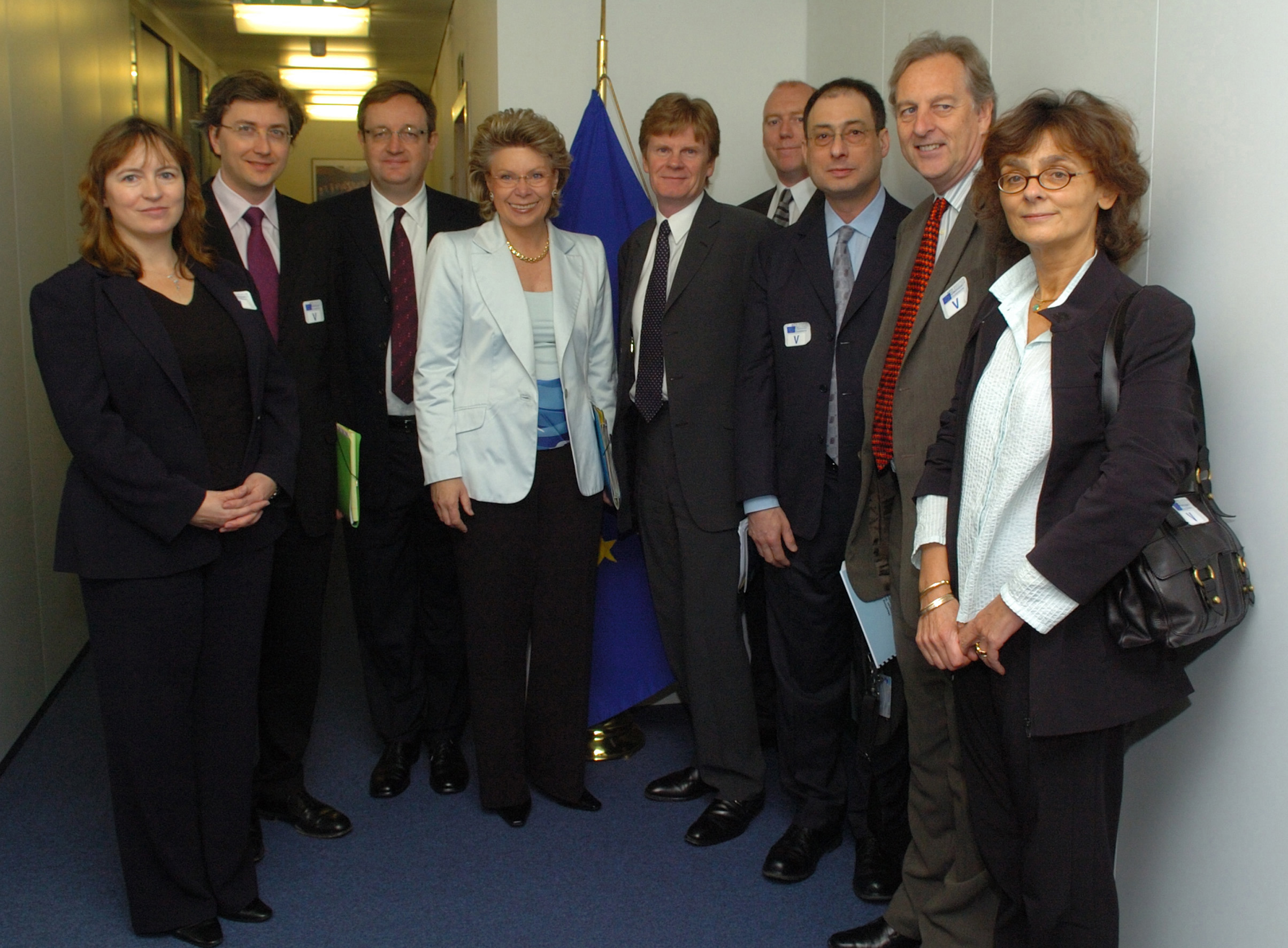 Visit of representatives of the European Music Industry, to the EC