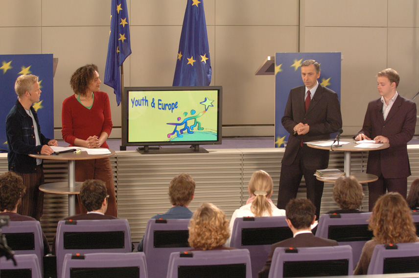 Meeting of Ján Figel', Member of the EC , with young people