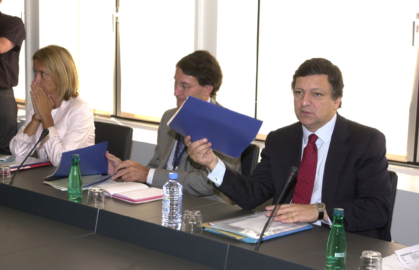 Meeting between José Manuel Barroso, President of the EC, and a delegation from the Confederation of Ultra-Peripheral Municipalities