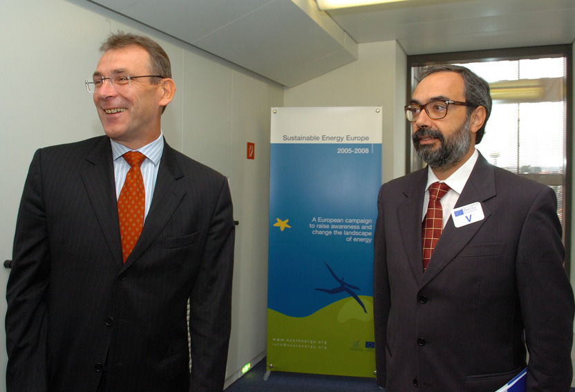 Visit of Jorge Vasconcelos, Chairman of the Council of European Energy Regulators, to the EC