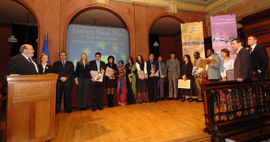 Award of the Lorenzo Natali journalism prize 2005