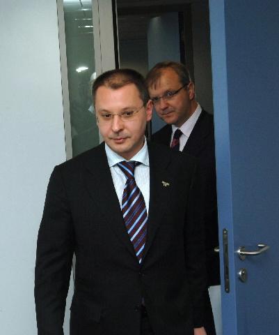 Visite de Sergueï Stanichev, Premier ministre bulgare, à la CE