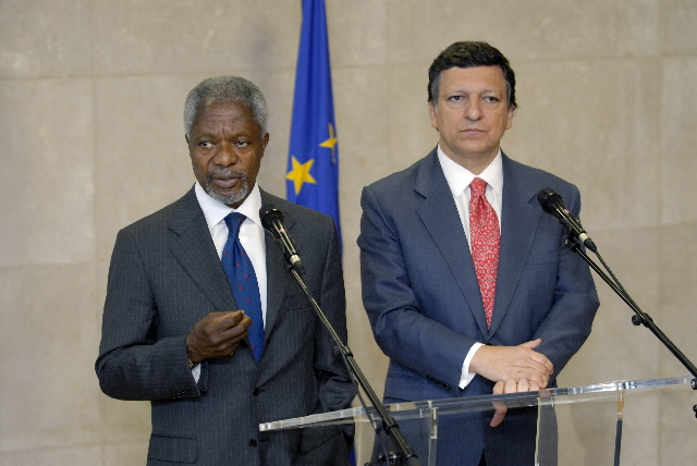 Visit by Kofi Annan, Secretary General of the United Nations, to the EC