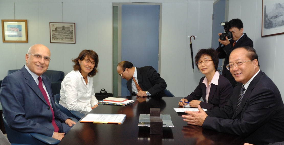 Visit by Li Changjiang, Director of the State Administration of Quality Supervision, Inspection and Quarantine, to the EC
