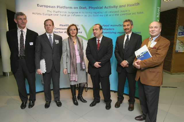 Press conference by Markos Kyprianou, Member of the EC, on tackling obesity and overweight