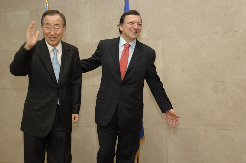 Visit by Ban Ki-moon, Secretary General of the United Nations (UNO), to the EC