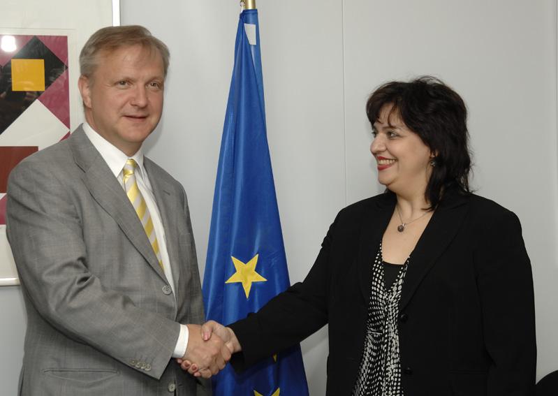 Visit by Gabriela Konevska-Trajkovska, Deputy Prime Minister in charge of European Integration of the former Yugoslav Republic of Macedonia, to the EC