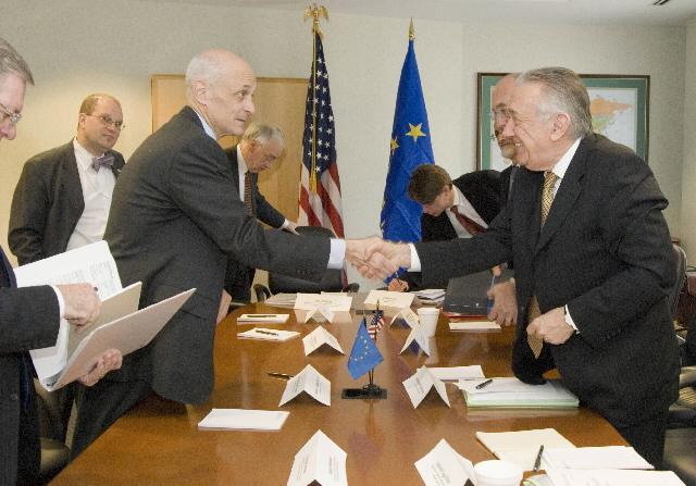 Visit by László Kovács, Member of the EC, to the United States
