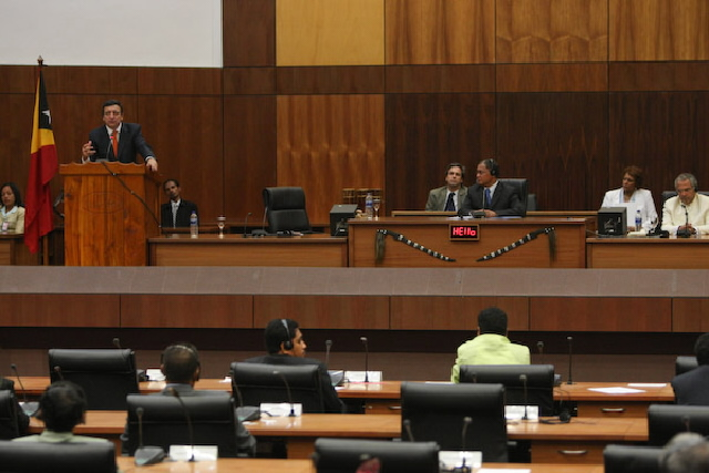 Visit by José Manuel Barroso, President of the EC, to East Timor