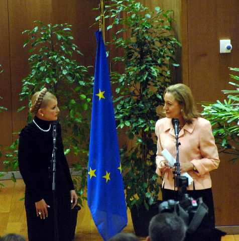 Visit by Yulia Tymochenko, Ukrainian Prime Minister, to the EC
