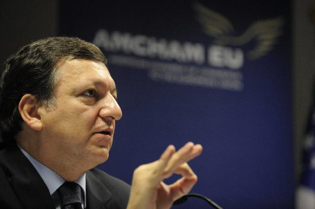 Participation de José Manuel Barroso, président de la CE, à la présentation d'une nouvelle étude Mondialisation & Europe: prospérer dans un monde en mouvement