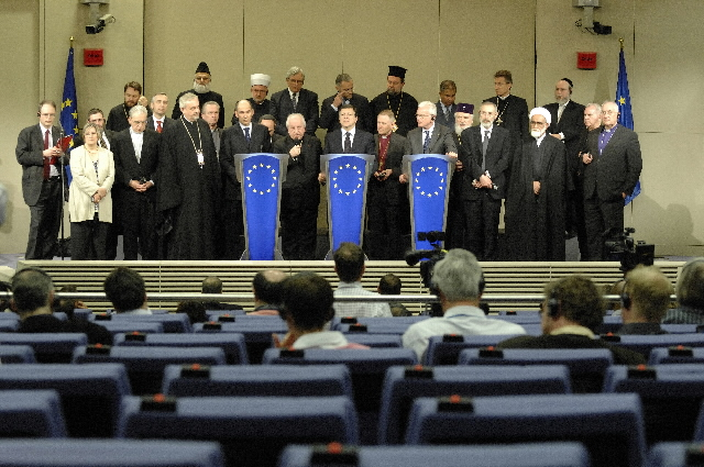 Visit of European High-level religious leaders to the EC